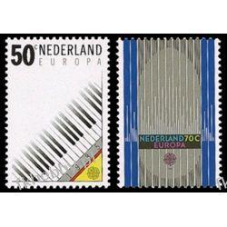 Holandia 1985 Mi 1274-75 ** Europa Cept Muzyka Malarstwo