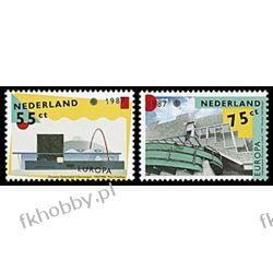 Holandia 1987 Mi 1318-19 ** Europa Cept Architekt Pozostałe