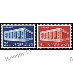 Holandia 1969 Mi 920-21 ** Europa Cept Sport