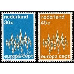 Holandia 1972 Mi 987-88 ** Europa Cept  Marynistyka