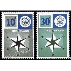Holandia 1957 Mi 704-05 ** Europa Cept  Marynistyka