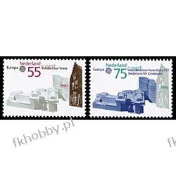 Holandia 1990 Mi 1386-87 ** Europa Cept Poczta San Marino