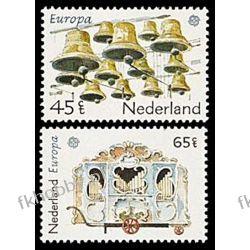 Holandia 1981 Mi 1186-87 ** Europa Cept Dzwony Muzyka Liechtenstein