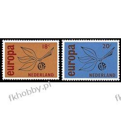 Holandia 1965 Mi 848-49 ** Europa Cept Flora  Malarstwo