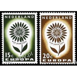 Holandia 1964 Mi 827-28 ** Europa Cept Kwiaty  Pozostałe