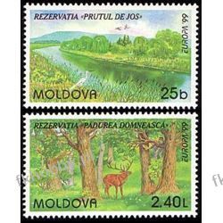 Mołdawia 1999 Mi 305-06 ** Europa Cept Zwierzęta Liechtenstein