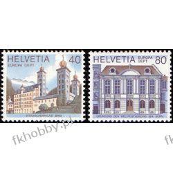 Szwajcaria 1978 Mi 1128-29 ** Europa Cept Budynki  Marynistyka