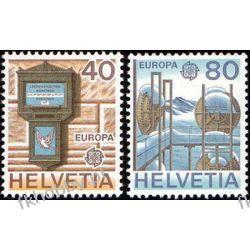 Szwajcaria 1979 Mi 1154-55 ** Europa Cept Poczta San Marino