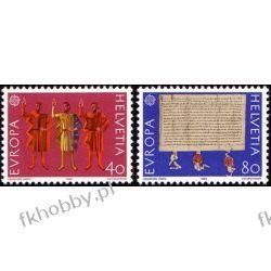 Szwajcaria 1982 Mi 1221-22 ** Europa Cept Historia  Ssaki