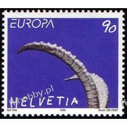 Szwajcaria 1999 Mi 1685 ** Europa Cept Natura Pozostałe
