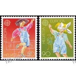Szwajcaria 1989 Mi 1391-92 ** Europa Cept Dzieci  Pozostałe