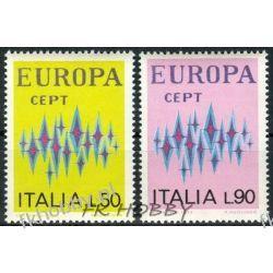 Italia 1972 Mi 1364-65 ** Europa Cept  Malarstwo