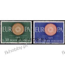 Italia 1960 Mi 1077-78 ** Europa Cept  Pozostałe