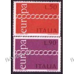 Italia 1971 Mi 1335-36 ** Europa Cept  Ssaki