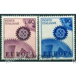 Italia 1967 Mi 1224-25 ** Europa Cept  Pozostałe