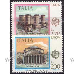 Italia 1978 Mi 1607-08 ** Europa Cept Zamek  Malarstwo
