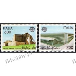 Italia 1987 Mi 2010-11 ** Europa Cept Architektura  Pozostałe
