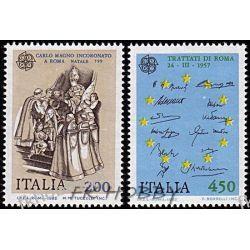 Italia 1982 Mi 1798-99 ** Europa Cept Raffaello  Malarstwo