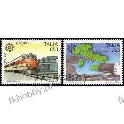 Italia 1988 Mi 2043-44 ** Europa Cept Kolej Mapa  Pozostałe