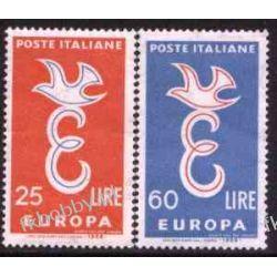 Italia 1958 Mi 1016-17 ** Europa Cept  Pozostałe