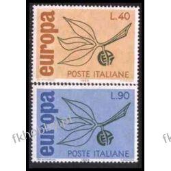 Italia 1965 Mi 1186-87 ** Europa Cept Flora Druk wklęsły