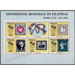 Italia 1985 Mi BL 2 ** Znaczek na Znaczku  Pozostałe