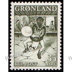 Grenlandia 1961 Mi 46 ** Folklor Taniec Muzyka Druk wklęsły