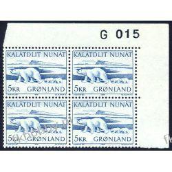 Grenlandia 1976 Mi 96 x4 ** Czesław Słania Niedżwiedż Pozostałe