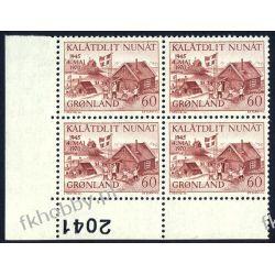 Grenlandia 1970 Mi 76 x4 ** Czesław Słania a Liechtenstein