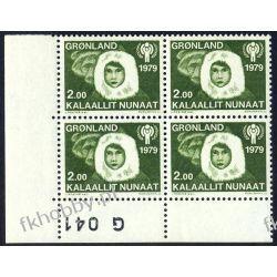 Grenlandia 1979 Mi 118 x4 ** Eskimos Dziecko Pozostałe