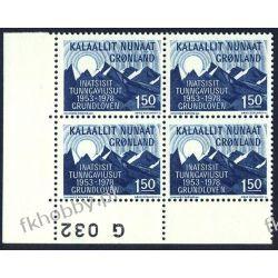 Grenlandia 1978 Mi 109 x4 ** Góry Pozostałe