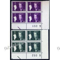 Grenlandia 1981 Mi 126-27 x4 ** Słania Królowa Małgorzata Marynistyka