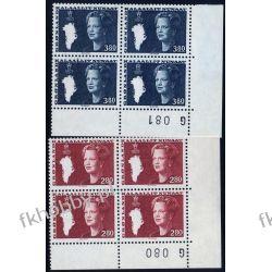 Grenlandia 1985 Mi 155-56 x4 ** Słania Królowa Małgorzata Pozostałe