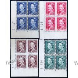 Grenlandia 1990 Mi 201-04 x4 ** Słania Królowa Małgorzata Pozostałe