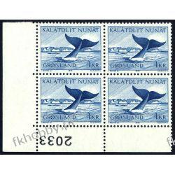 Grenlandia 1970 Mi 75 x4 ** Czesław Słania Wieloryb Pozostałe