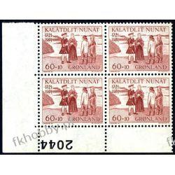 Grenlandia 1971 Mi 78 x4 ** Czesław Słania Hans Egede Pozostałe