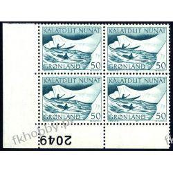 Grenlandia 1971 Mi 79 x4 ** Czesław Słania Morze Pozostałe