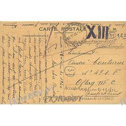 Poczta Obozowa Oflag IIIC Lubben 1940 Kriegsgefangenenpost k3a Militaria