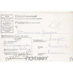 Poczta Obozowa Oflag 83 Wietzendorf 1944 Obóz Wojsko Wojna k1  Pozostałe