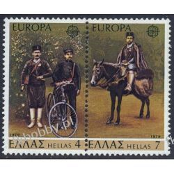 Grecja 1979 Mi 1352-53 zd ** Europa Cept Koń Rower Pozostałe