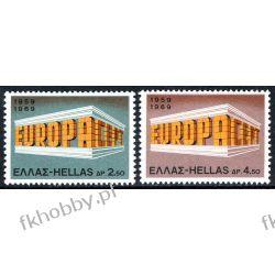 Grecja 1969 Mi 1004-05 ** Europa Cept