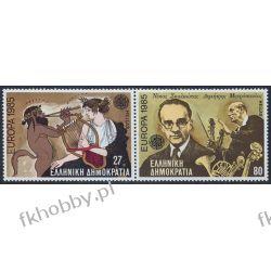 Grecja 1985 Mi 1580-81 zd ** Europa Cept Muzyka  Pozostałe