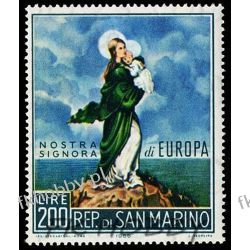 San Marino 1966 Mi 879 ** Europa Cept Malarstwo Liechtenstein