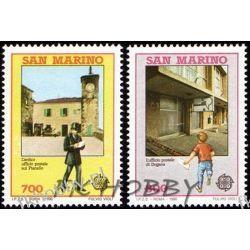 San Marino 1990 Mi 1432-33 ** Europa Cept Poczta