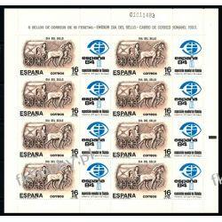 Hiszpania 1983 Mi ark 2604 ** Koń Konie