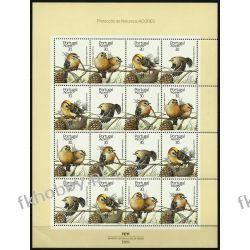 Portugalia Az 1989 Mi ark 397-00 ** WWF Ptaki Pozostałe