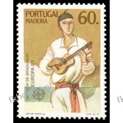 Portugalia Ma 1985 Mi 97 ** Cept Muzyka Folklor San Marino