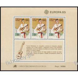 Portugalia Ma 1985 Mi BL 6 ** Cept Muzyka Folklor Pozostałe