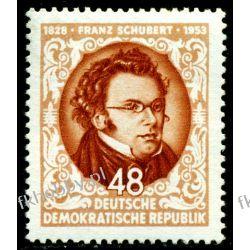 Niemcy NRD 1953 Mi 404 ** Franz Schubert Muzyka Polonica