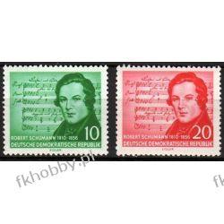 Niemcy NRD 1956 Mi 528-29 ** Schumann Muzyka Harcerstwo i Skauting